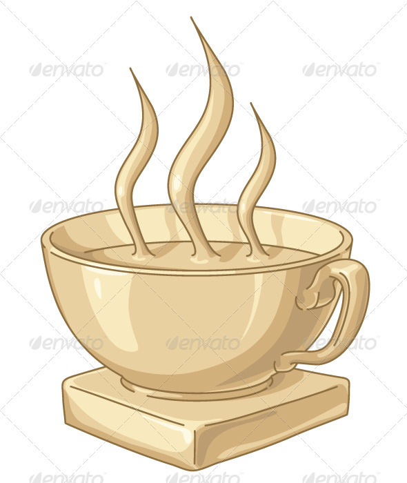 Golden Coffee Cup - Sports/Activity Conceptual