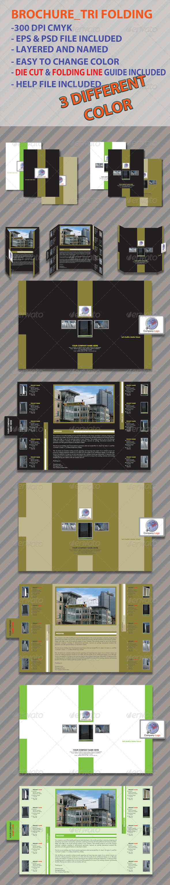Print Ready Brochure_Trifolding - Corporate Brochures