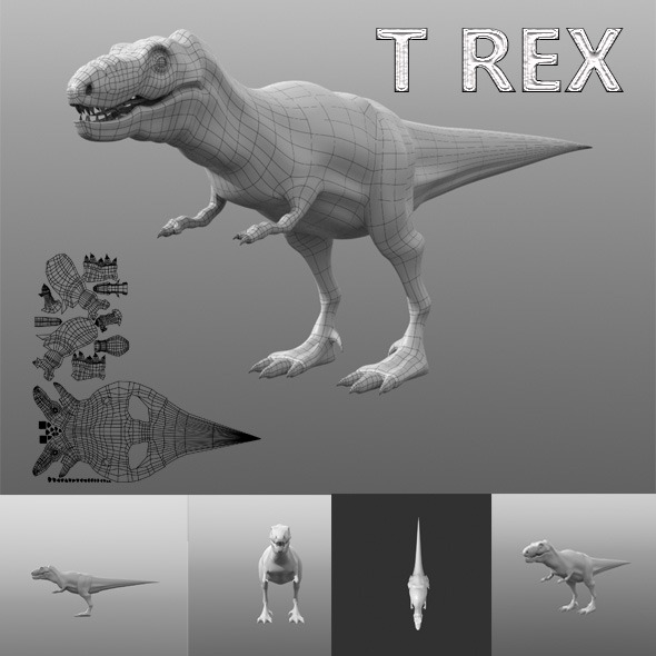 TREX - 3DOcean Item for Sale