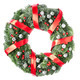 Download Christmas wreath with red berries from PhotoDune