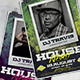 House Night Poster Flyer - GraphicRiver Item for Sale