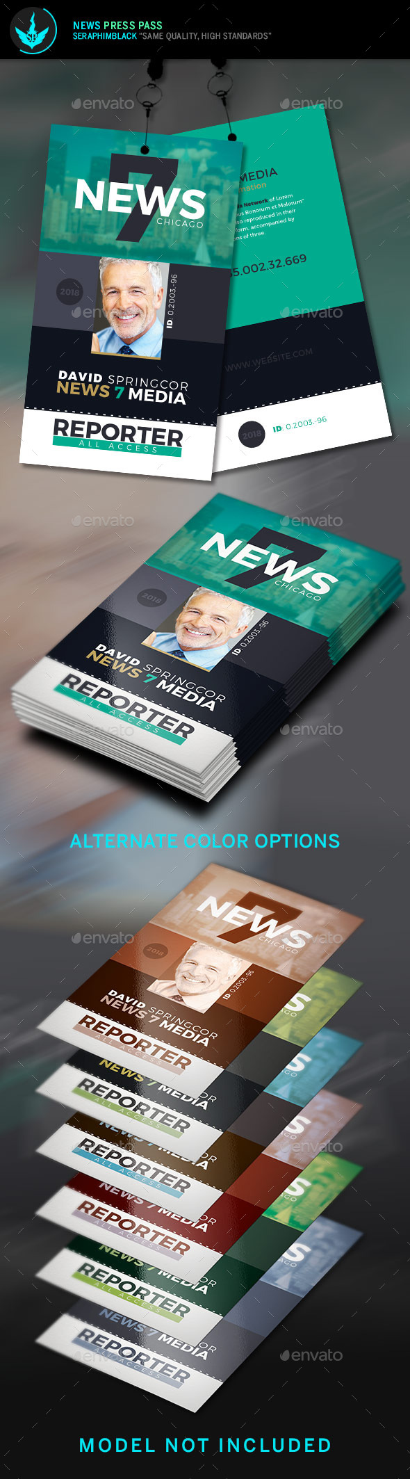 media pass template - press pass template by seraphimblack graphicriver
