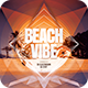 Beach Vibe Flyer - GraphicRiver Item for Sale