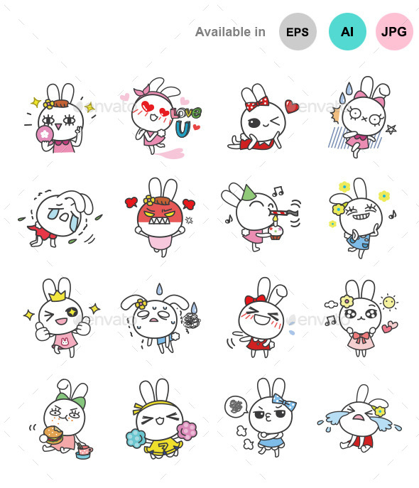 Bella Bunny - Animals Characters