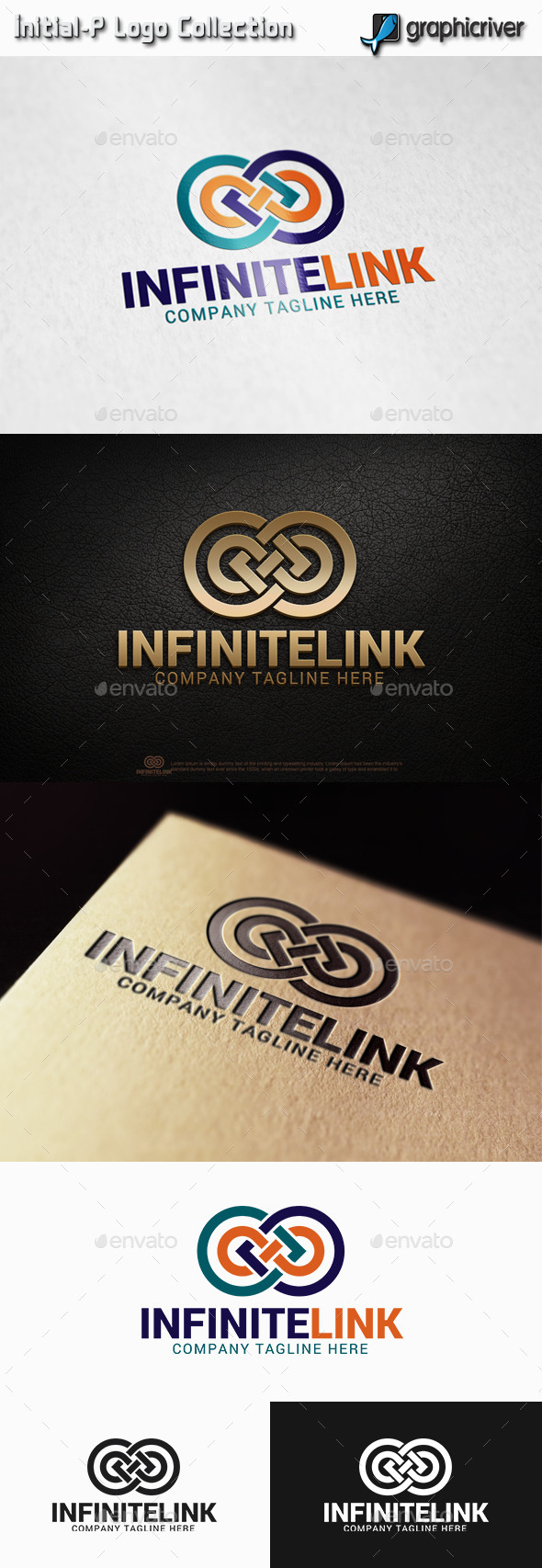 Infinite Link - Infinity Logo - Abstract Logo Templates