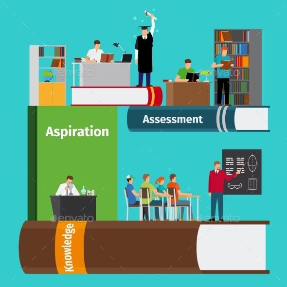 Books Education Infographics - Miscellaneous Vectors
