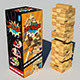 Jenga Classic Game 3d model - 3DOcean Item for Sale