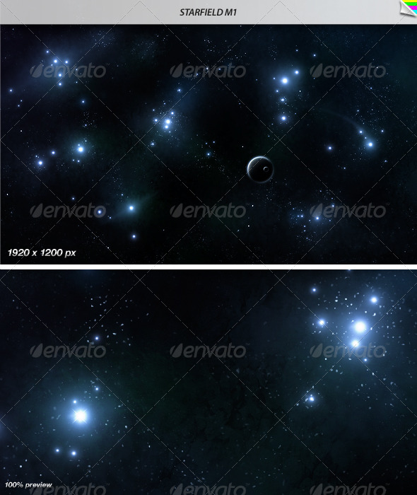 Starfield M1 - Tech / Futuristic Backgrounds