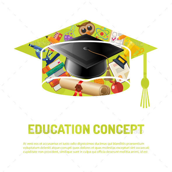 Online Education Poster - Miscellaneous Conceptual