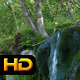 Small Waterfall and Moss Covered Rock - VideoHive Item for Sale