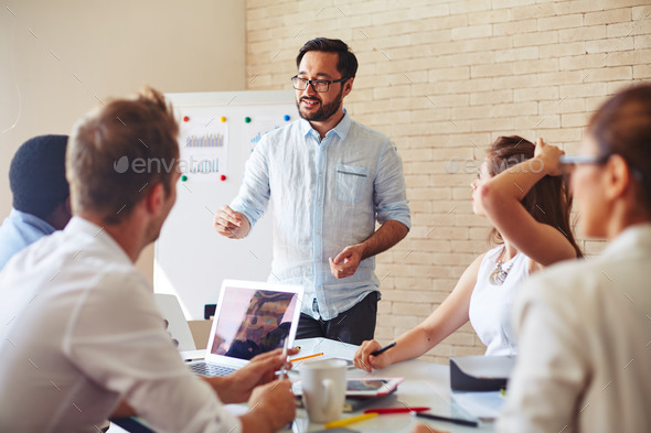 Business seminar - Stock Photo - Images