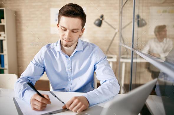 Confident employee - Stock Photo - Images