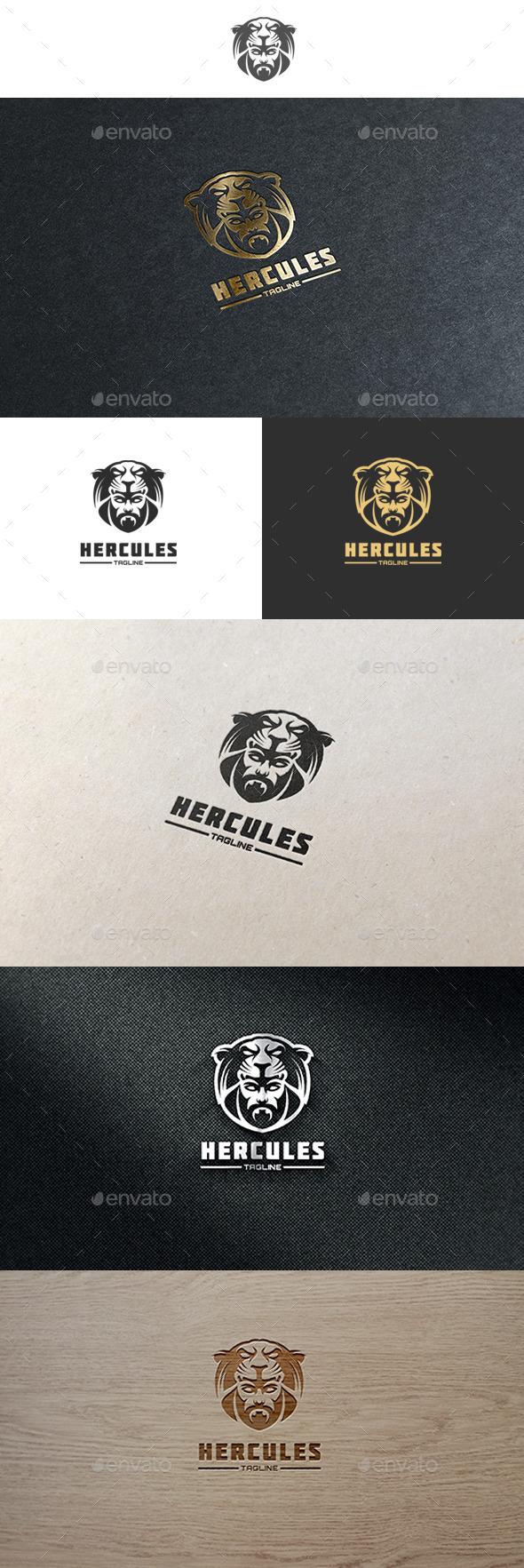 Hercules Logo - Humans Logo Templates