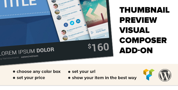 Thumbnail Preview and Item Grabber WP Plugin