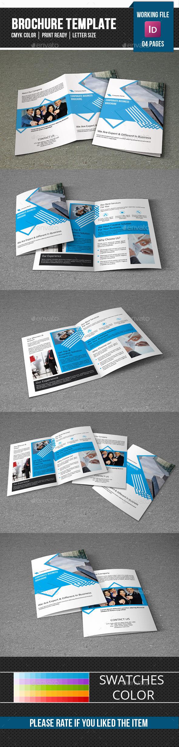 Corporate Brochure Template-V289 - Corporate Brochures