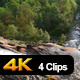 Waterfall in Mountains of Norway - VideoHive Item for Sale