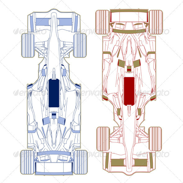 Sport Race Car Vehicle Sketch  - Sports/Activity Conceptual