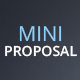 Mini Proposal Template - GraphicRiver Item for Sale