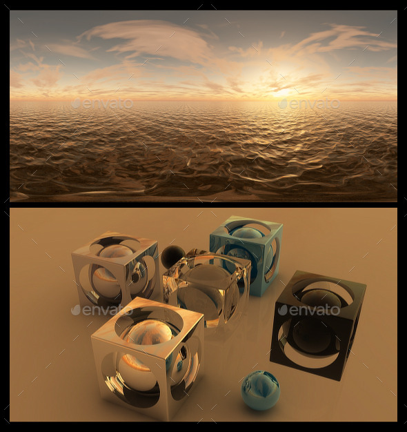 Golden Hour 3 - HDRI - 3DOcean Item for Sale