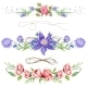 Shabby Chic Watercolor Vignettes - GraphicRiver Item for Sale
