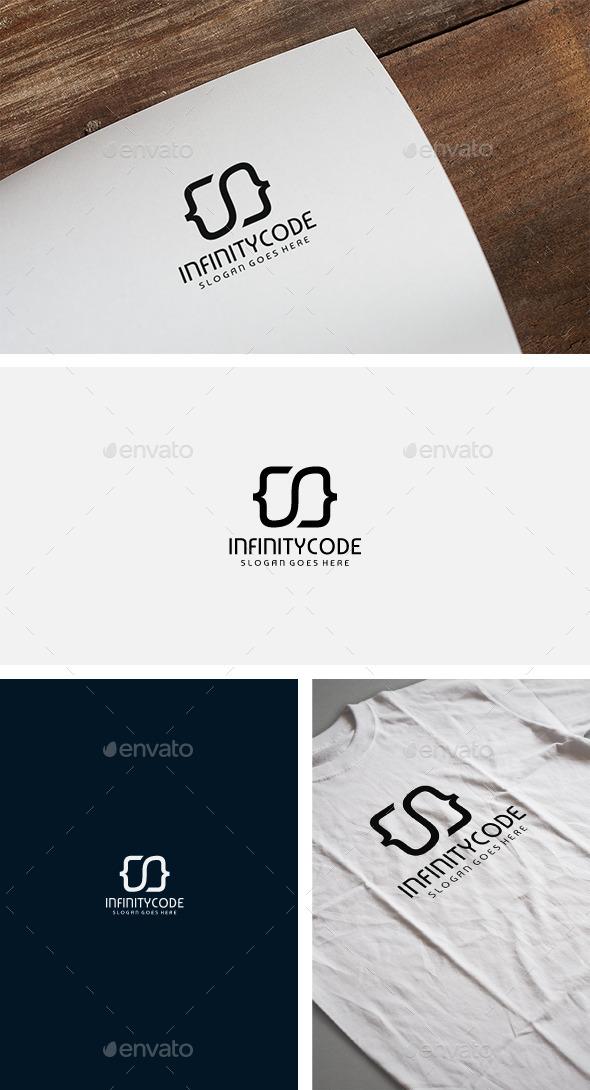 Infinity Code Logo - Symbols Logo Templates