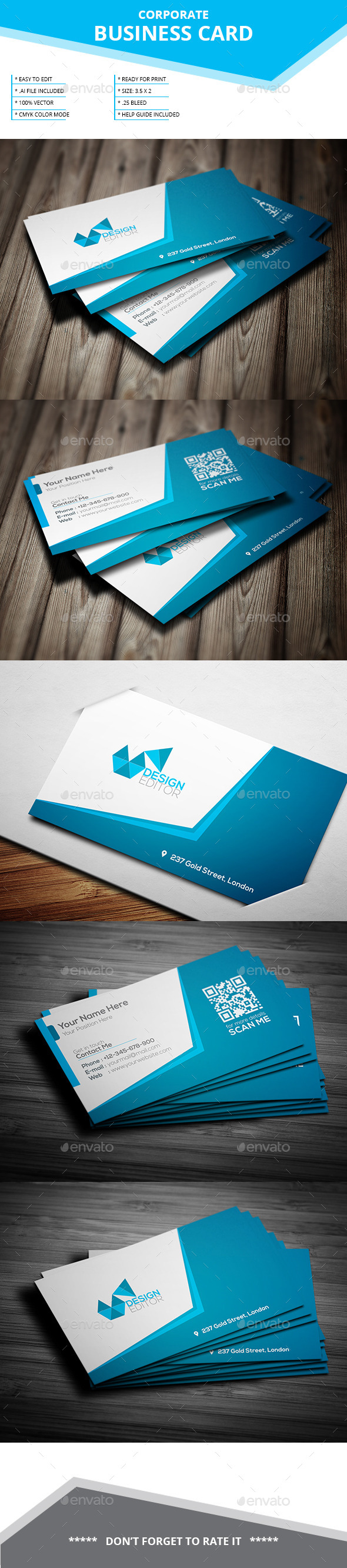 Corporate Buness Card - Corporate Business Cards