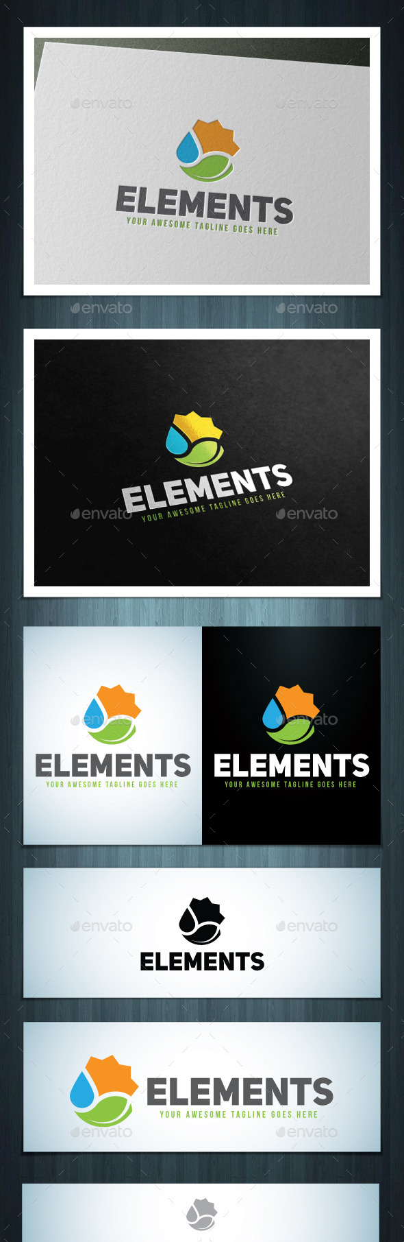 Elements - Nature Logo Templates