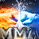 MMA Fight Flyer Template - GraphicRiver Item for Sale