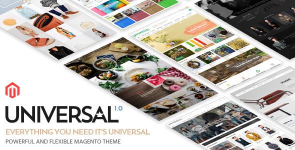 Universal – Responsive Magento Theme