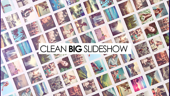 Clean Big Slideshow