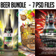 Beer Bundle Flyers - GraphicRiver Item for Sale