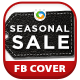 Seasonal Sale Facebook Cover - GraphicRiver Item for Sale
