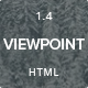 Viewpoint - Responsive portfolio with parallax Nulled