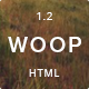 Woop - Single Page Portfolio Nulled