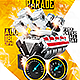 Car Show And Car Parade PSD Flyer - GraphicRiver Item for Sale