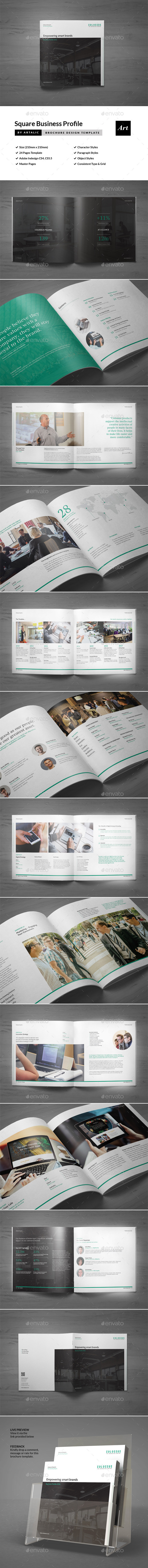 Corporate Brochure (Square Format) - Corporate Brochures