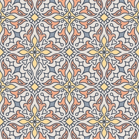 Arabic Seamless Pattern - Patterns Decorative