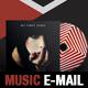 Music Promo PSD E-mail Template - GraphicRiver Item for Sale
