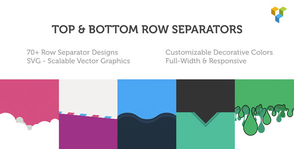 Row Separators for Visual Composer - CodeCanyon Item for Sale