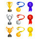 Trophies Icons - GraphicRiver Item for Sale
