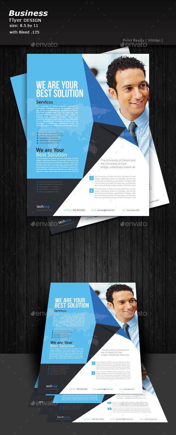 Business Flyer Design  - Print Templates