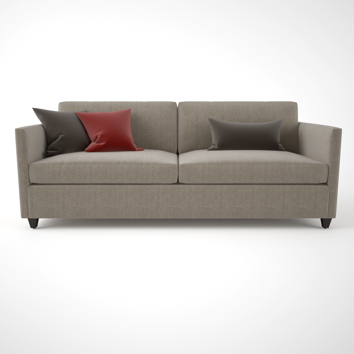 Crate and Barrel Dryden Apartment Sofa by emp_otu | 3DOcean