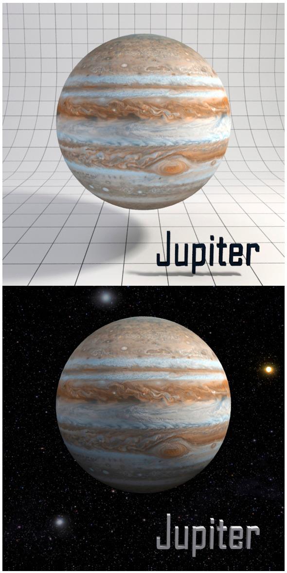 Jupiter Realistic HD model