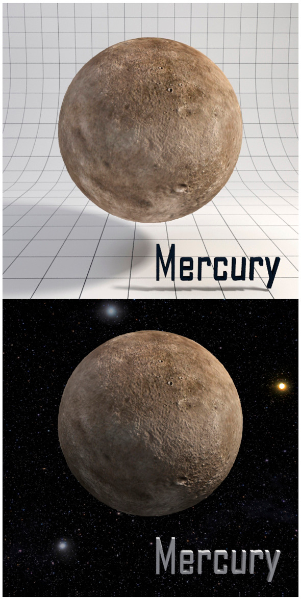 Mercury - Realistic HD model - 3DOcean Item for Sale