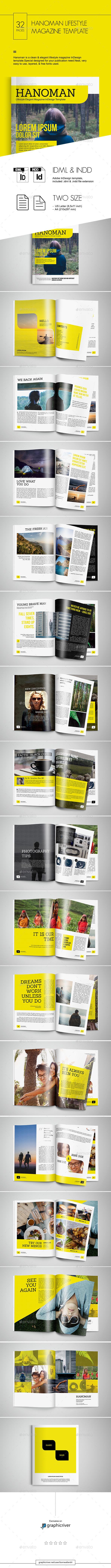 Hanoman Lifestyle Magazine Template