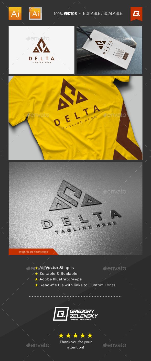 Delta Logo Template - Crests Logo Templates