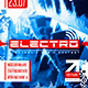 Electro Party Flyer vol.1 - GraphicRiver Item for Sale