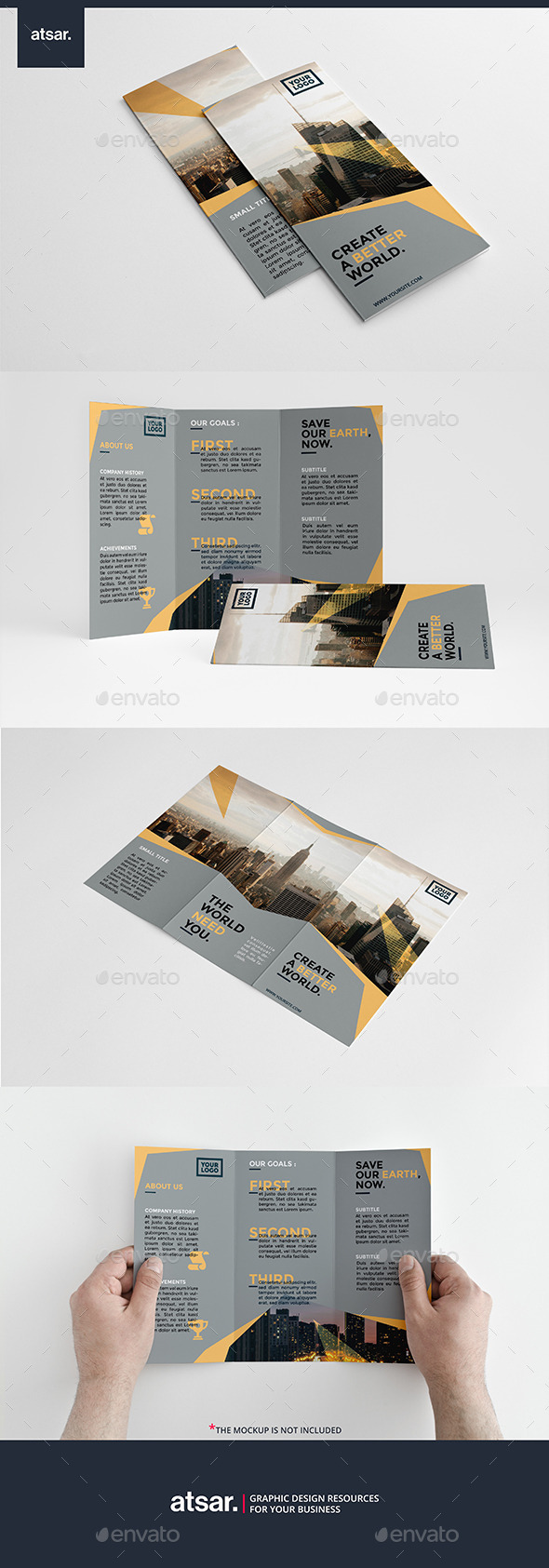 Simply Multipurpose Trifold - Corporate Brochures