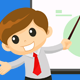 Businessman Giving Presentation - GraphicRiver Item for Sale