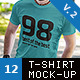 T-Shirt Fashion Mock-Up v2 - GraphicRiver Item for Sale